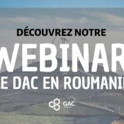 Le DAC en Roumanie - Webinar