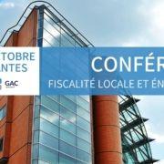 Conférence fiscalité locale et énergétique : un dispositif complexe à piloter pour les entreprises - 17 octobre à Nantes